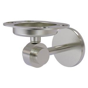 Allied Brass Satellite Orbit Two Brass Satin Nickel Tumbler and Toothbrush Holder