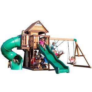 Backyard Discovery Cedar Cove Residential Wood Playset