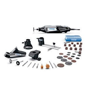 Dremel4000 38-piece Variable Speed1.6-amp Multipurpose Rotary Tool with Hard Case