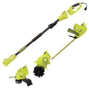 Système d'outils multifonctions Sun Joe électrique de 4,5 A et 19po avec cordon et accessoires