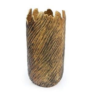 Vase de table Leela Gild Design House en métal doré
