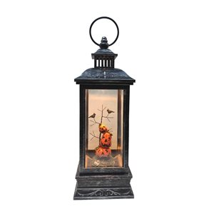 Northlight LED Halloween Lantern with Stacked Pumpkins