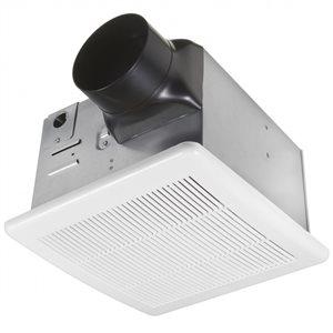 American Imaginations 1.5-Sone 90 CFM White Bathroom Fan Energy Star Certified