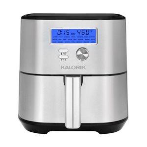 Friteuse à air chaud MAXX Plus par Kalorik en acier inoxydable de 6,62 L (1,46 gal)