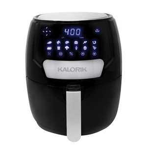 Friteuse à air chaud noire par Kalorik de 4,26 L (0,94 gal)