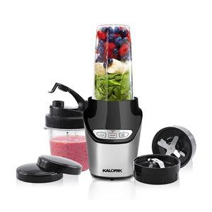 Kalorik Nutrition 33.8-oz. Silver 1000-Watt Pulse Control Blender - 8-Piece