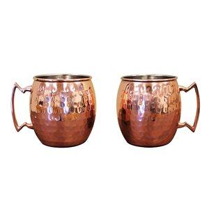 Epicureanist Moscow Mule Mug - Set of 2