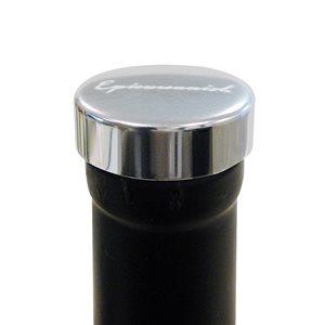 Epicureanist Stainless Steel Metallic Wine Bottle Stoppers (Set of 2)
