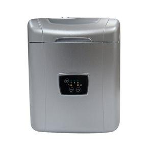 Vinotemp International 25-lb Drop-Down Door Freestanding Cube Ice Maker