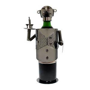 Epicureanist Stainless Steel Waiter Wine Bottle Cover