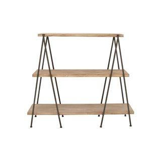Grayson Lane18-in D x59-in W x51-in H3-Tier Decorative Wood Shelves