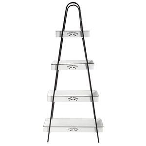 Grayson Lane12-in D x28-in W x64-in H4-Tier Decorative Metal Shelves