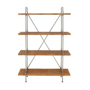 Grayson Lane16-in D x43-in W x67-in H4-Tier Decorative Wood Shelves