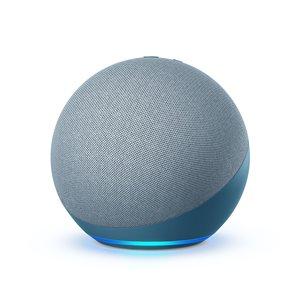 Haut-parleur portable Echo 4e génération d'Amazon, bleu ciel