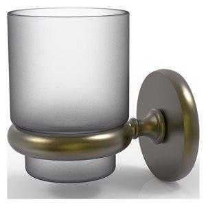 Allied Brass Prestige Skyline Antique Brass Tumbler Holder