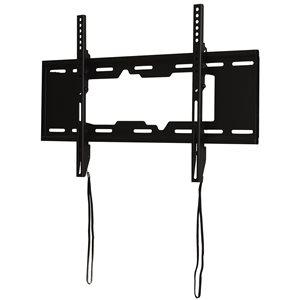 Support mural inclinable noir par RCA pour téléviseurs jusqu'à 80po (quincaillerie incluse)