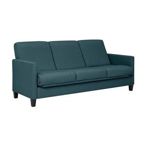 Handy Living Moneca Caribbean Blue Polyester Sofa Bed