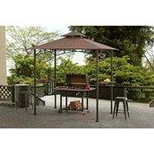 Abri-soleil pour barbecue Sunjoy, 8' x 5', brun foncé