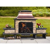 Sunjoy Bel Aire Outdoor Fireplace - 80