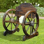 Chaise en bois rustique de Sunjoy , sapin de Chine