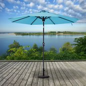 Sunjoy Prescott Patio Umbrella -  9' - Niagara