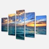 Exotic Beach Canvas Print- 60