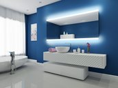 Mirror with LED Lighting - 80