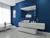 Miroir à éclairage DEL intégré, 60