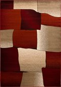 Nancy Area Rug - 8' x 11'- Red