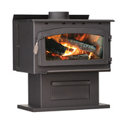US Stove Company Wood Stove with Blower - 2000 sq. ft.